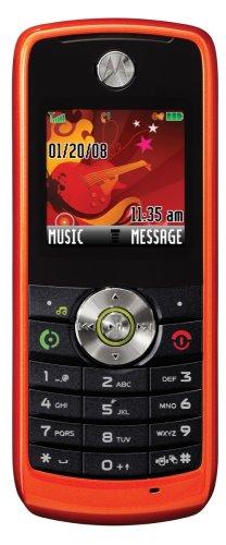 Motorola W230 con funzioni di cellulare (Quad band, lettore MP3, microSD-con ingresso scheda di memoria)