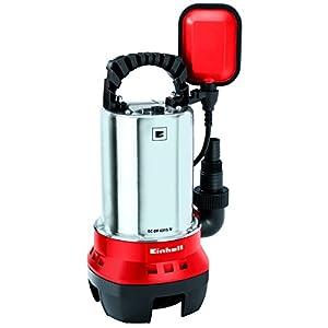 Einhell GH-DP 5225 N – Bomba de aguas sucias (520W, capacidad de 10.000 l/h, profundidad max. de inversión 5m, conexión…