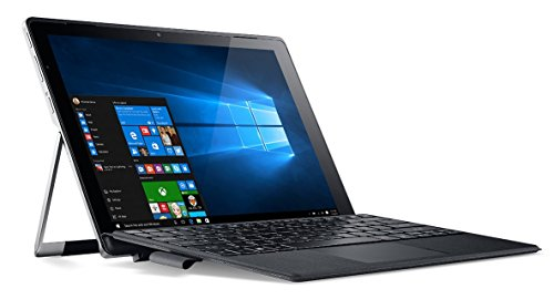 "Acer Switch Alpha 12 SA 5-271-50YK Netbook, 12"", Intel Core i5-6200U, 8 GB di RAM, 512 GB SSD, scheda grafica UMA, Windows 10, Grigio [Spagna]"