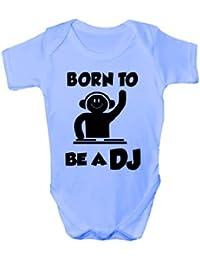 Born To Be A DJ cadeau humoristique Body Bébé Fille Garçon-Gilet ... b7fe78c53f5