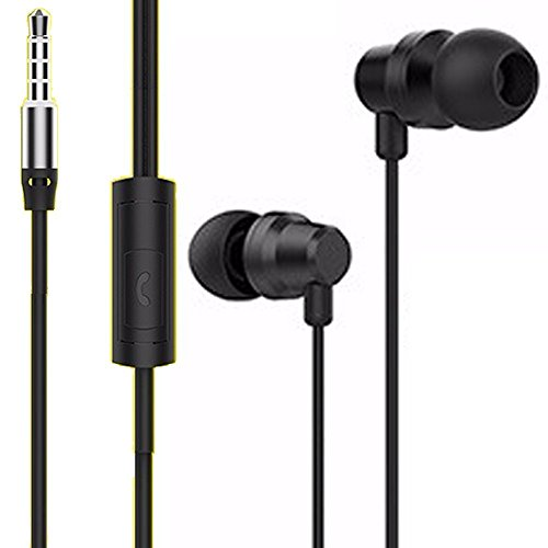 Exclusive Deals, Great Indian Sale, Golden Hour Deals, BELL Metal Headset  In-Ear Headphones with Universal Mic with Converter any iPod, iPhone, iPad,