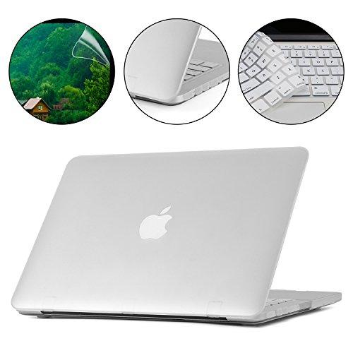 i-Buy Matte Gummierte Harte Schutzhülle Hülle für Apple Macbook Pro Retina 13