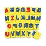 Chenille Kraft entreprise CK-9087 Peinture poign-e -ponges 26 lettres majuscules Designs