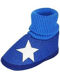 INSTABUYZ Unisex Baby's Cotton Sandal (6-18 Month,Blue)