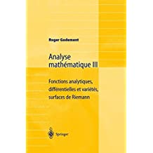 Analyse Mathématique III