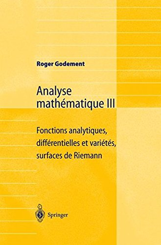 Analyse Mathmatique III
