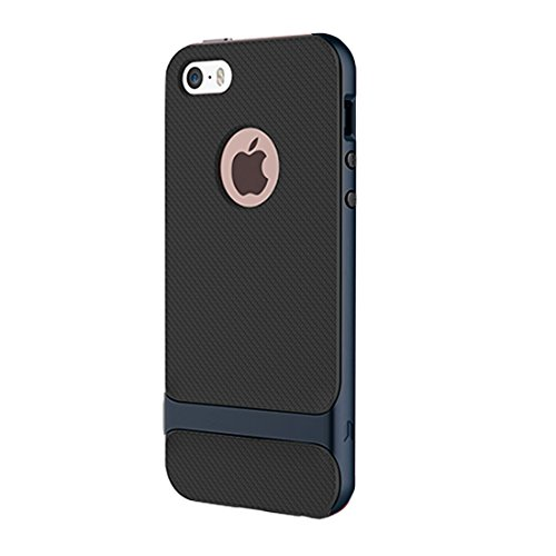 BING Für IPhone 6 / 6s, Rock Royce Serie Business Style TPU + PC Schutzhülle BING ( Color : Dark Blue ) Dark Blue