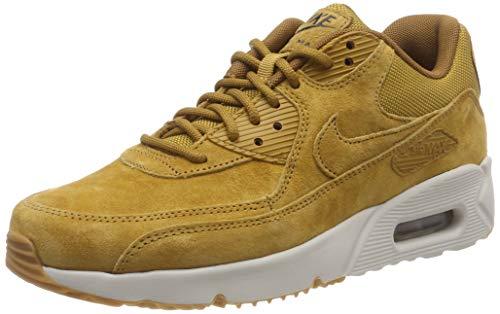 Nike Herren AIR MAX 90 Ultra 2.0 LTR Fitnessschuhe, Mehrfarbig Wheat/Light Bone/Gum Med Brown 700, 44 EU