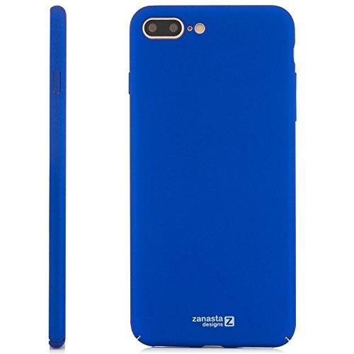 Zanasta Designs iPhone 7 Coque Housse Ultra Mince Case Premium Hard Cover léger et ajustement parfait (Exact-Fit) - Mat (Or) Rose gold Bleu