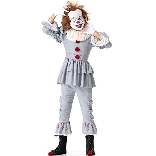 TTTAO Cosplay Halloween Kostüm, Cosplay Weiblicher Clown Maskerade Anzeigen - Weibliche Für Erwachsene Clown Kostüm