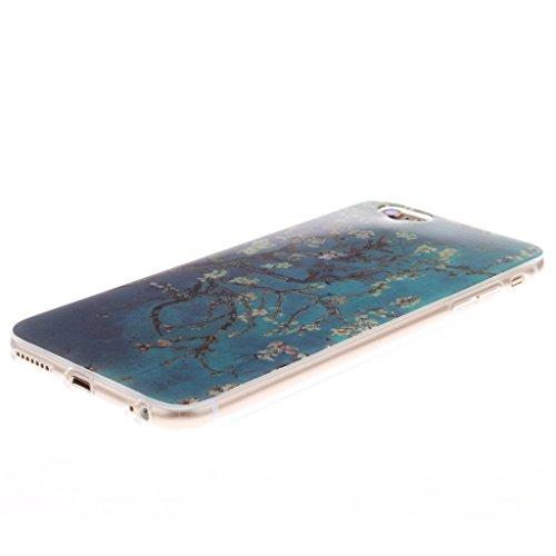 Pour iphone 6 Coque / iphone 6S Housse - 4.7 inch, MYTHOLLOGY - Dreamcatcher Doux Flexible, Premium Silicone TPU Arrière Etui Case Beau Fleur