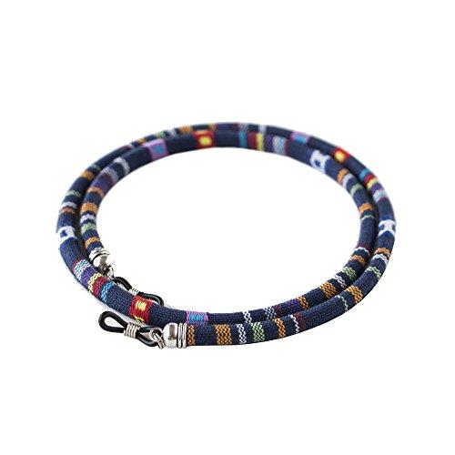 cordon-redondo-de-gafas-estampado-etnico-azul-marino-rojo