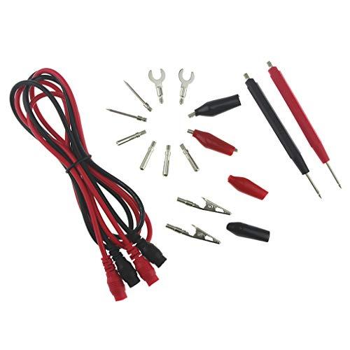 Minzhi Tman 16 in 1 Universal-Multifunktions-Digital-Multimeter Probe Nadelspitze Prüfleitungen Stift Kabel Pen Kabel Testlinie Set