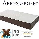 Arensberger LENA - die perfekte Matratze mit xdura Universalschaum, 90 cm x 200 cm, mehrfach ausgezeichnet, extra Höhe 30cm, Raumgewicht 50 kg/m³
