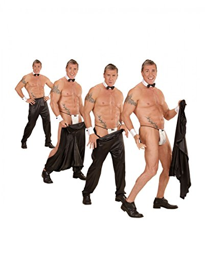 Horror-Shop Sexy Stripper-Hose mit Klettverschluß für Chippendales Showeinlagen M/L (Magic Mike Kostüm)