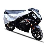 GJX Copertura del Mobilia del Rattan del Giardino Abbigliamento per Motociclisti Impermeabile Copertura Antipolvere Antipioggia Antipioggia (Size : 170x60x85cm)