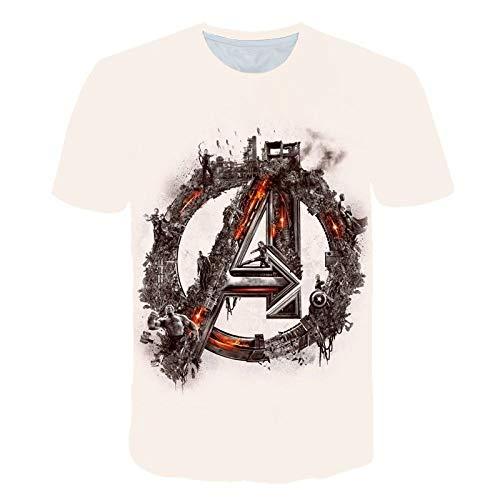God Driver T-Shirt 3D Digital Druck Jungen Mädchen Science Fiction Film Cartoon Eisen Herren Pokémon Kurzarm Lässiger Pullover