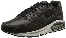 Nike Herren Air Max Command Leather Turnschuhe, Schwarz (Black/Anthracite/Neutral Grey 001), 47 EU