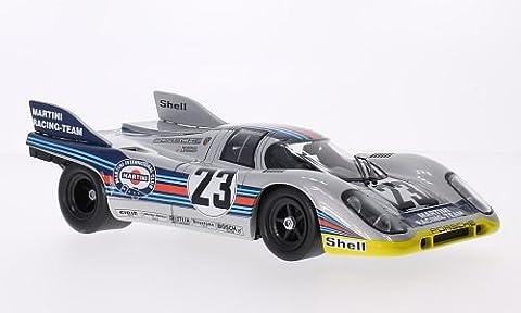 Porsche 917K, No.23, Martini, 1000km Spa, 1971, Modellauto, Fertigmodell, Norev 1:18