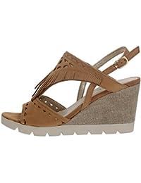 The FLEXX B606/25 Chaussures Compensées Femme COGNAC 37