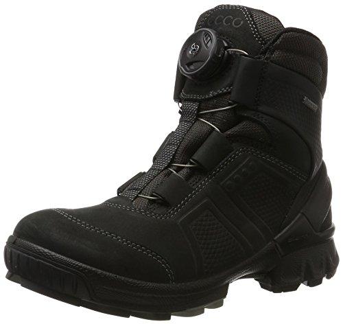 Ecco Biom Hike, Chaussures de Randonnée Hautes Femme, Noir