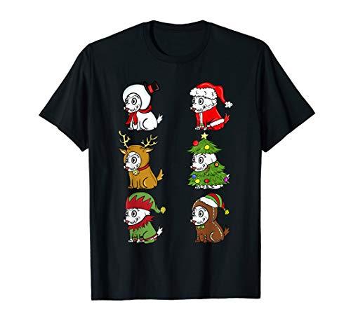 Für Kostüm Hunde Westies - Westie Xmas Kostüme Lustiger Hund Weihnachten Geschenk  T-Shirt
