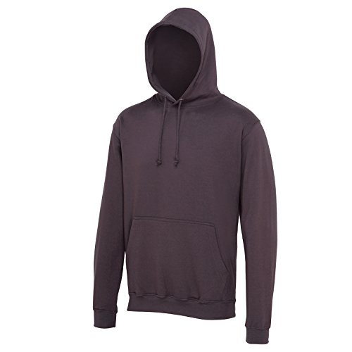 AWDis Herren Modern Kapuzenpullover Gr. S, Storm Grey (California Fleece Hooded Womens)