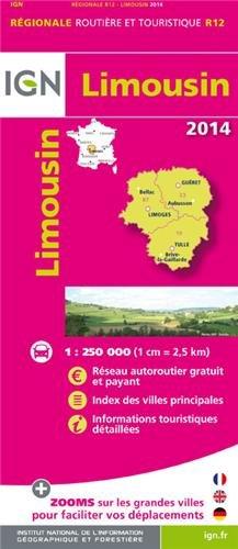 R12 LIMOUSIN 2014  1/250.000