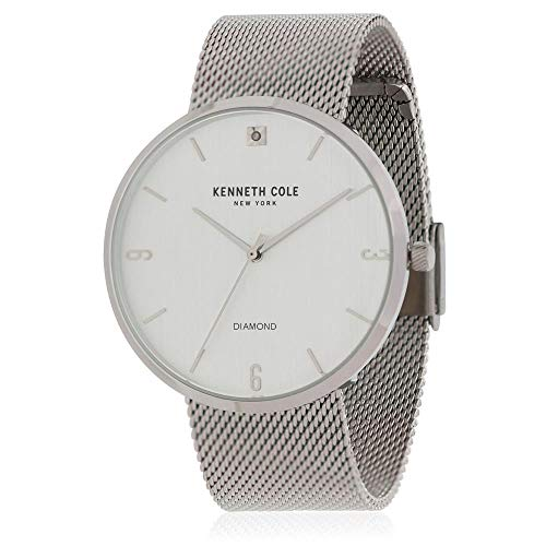 Kenneth Cole Men's Steel Bracelet & Case Quartz Analog Watch KC50638001