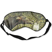 Sleep Eye Mask Horse Kiss Cat Lightweight Soft Blindfold Adjustable Head Strap Eyeshade Travel Eyepatch preisvergleich bei billige-tabletten.eu