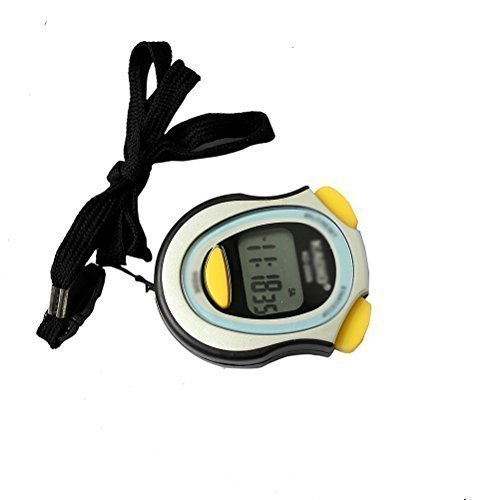 leading-star Digital Running Timer Chronograph Stopwatch Counter with Strap Pop by leading-star