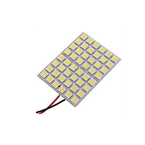 Preisvergleich Produktbild MagiDeal Weiße Platte Licht Reflektor 5050 LED Innenbirnen T10 BA9S Adapter Deckenleuchte