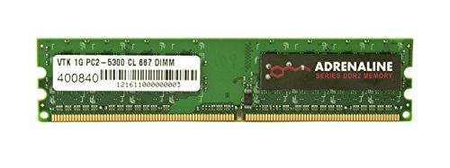 VisionTek PC2-5300 1GB 1GB DDR2 667MHz módulo de - Memoria (1 GB, 1 x 1 GB,...
