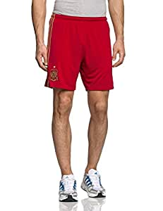 adidas Spain Home Shorts, Small (Red)
