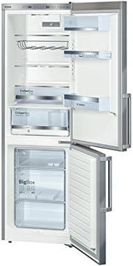 Bosch KGE36AI32 congeladora - Frigorífico (Independiente, Acero inoxidable, último lugar, A++, LED, 4*)