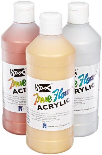 sax-true-flow-pintura-acrilica-1-pinta-juego-de-3-varios-colores-metalicos