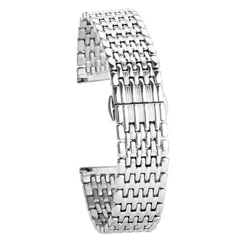 12mm Splitter Edelstahl Uhrenarmband für Damenmode-Uhrenarmband-Armband