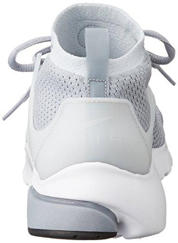 Nike Herren Air Presto Flyknit Ultra Turnschuhe, 41 EU Grau (Wolf Grey / Pr Pltnm-White-Blk)