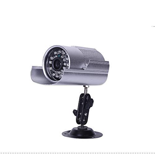 HERAHQ Kabelgebundene Überwachungskamera 700p wasserdichte Netzwerkkarte integrierte Kamera HD Nachtsicht Zwei-Wege-Stimme