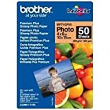 Brother BP71GP50 - Pack de 50 hojas de papel fotográfico Glossy Premium 10x15 (260 g/m2)