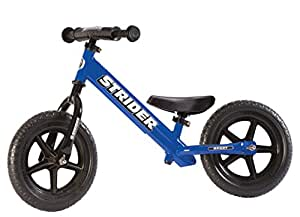 Strider Boy's and Girl's 12 Sport Balance Bike (18 Months to 5 Years, Blue)