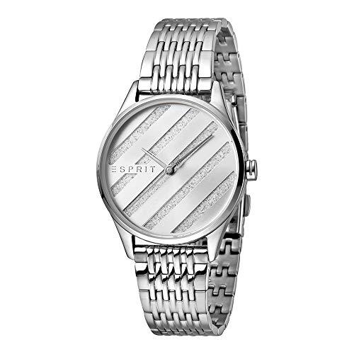 Esprit es1l029m0045E. ASY Silver MB–Reloj de Pulsera para Mujer