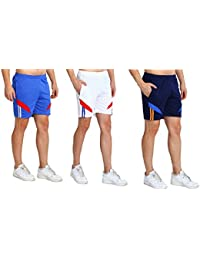 Dia A Dia Men Pack of 3 Shorts Free Size 26 to 36 Waist
