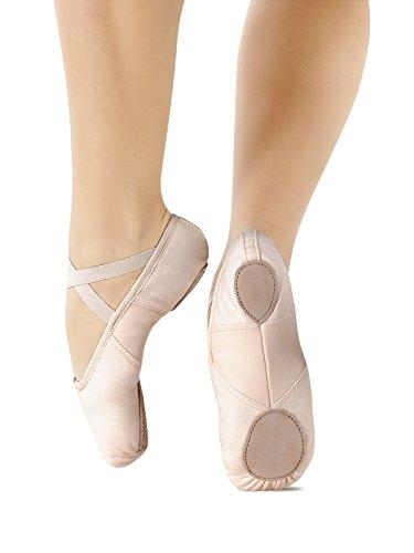 SO DANCA chausson de danse chaussure ballet ballerine – lin – spandex noir