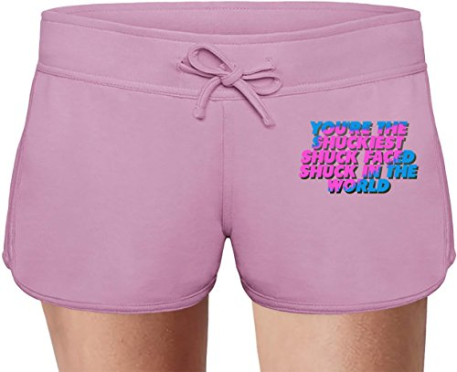 Kihong Lee Once Said The Thing Summer Sweat Shorts For Women & Ladies | 80% Cotton-20%Polyester| DTG Printing| Unique & Custom Briefs, Bermudas, Underpants, Slacks & Sports Clothing By Wicked Wicked