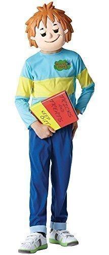 Jungen Kinder Kinder Offiziell Horrid Henry Buch Charakter Tag Woche TV Zeichentrickserie Kostüm Kleid Outfit - Blau, 5-6 years