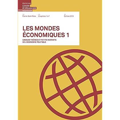 mondes économiques 1 Chapitres 1 à 7