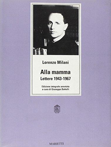 Alla Mamma Lettere 1943 1967