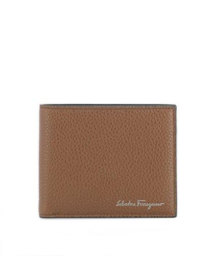 Salvatore Ferragamo Herren 0677350 Braun Leder Brieftaschen (Herren Ferragamo Brieftaschen)