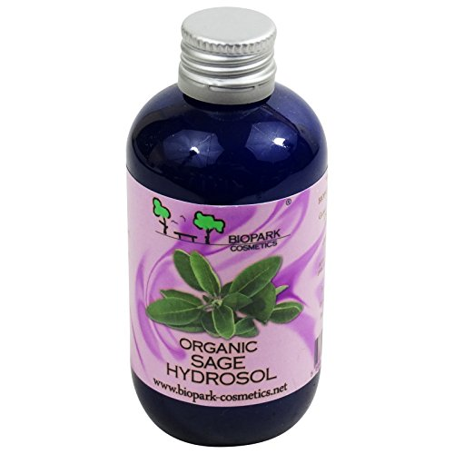 BIOPARK Salbei-Hydrosol - Reinigt normale bis ölige Haut - Ideal bei Akne - 100 ml